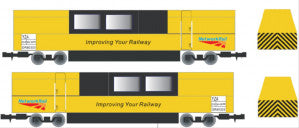 Gaugemaster GM2250101 N Gauge Network Rail Track Cleaning Vehicle