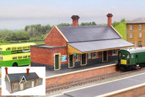 Gaugemaster GM401 OO Gauge Fordhampton Station Plastic Kit