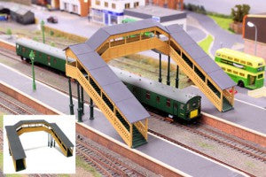 Gaugemaster GM403 OO Gauge Fordhampton Footbridge Plastic Kit
