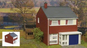 Gaugemaster GM405 OO Gauge Fordhampton 1960s Three Bedroom House Plastic Kit