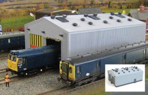 Gaugemaster GM406 OO Gauge Fordhampton Locomotive Depot Plastic Kit