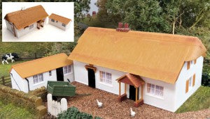 Gaugemaster GM411 OO Gauge Fordhampton Farmhouse/Holiday Cottage Plastic Kit