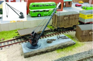 Gaugemaster GM418 OO Gauge Fordhampton Loading Crane Kit