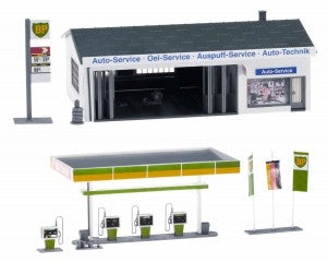 Gaugemaster GM424 OO Gauge Fordhampton Service Station Kit