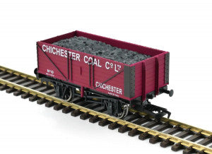 Gaugemaster GM4410205 OO Gauge 7 Plank Wagon Chichester Coal