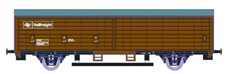 Gaugemaster GM4430102 OO Gauge BR Railfreight Track Cleaning Wagon