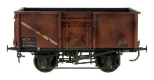 Gaugemaster GM7410306 OO Gauge 16t Mineral Wagon BR Bauxite 570260 Weathered