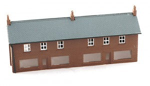 Gaugemaster GMKD06 N Gauge Two Shop Unit with Glazing Plastic Kit