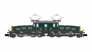 Arnold HN2432D N Gauge SBB Be6/8 II Crocodile Electric Locomotive III (DCC-Fitted)