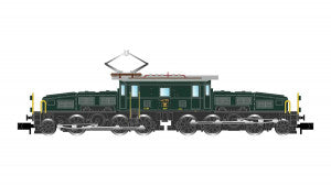 Arnold HN2433D N Gauge SBB Ce6/8 II Crocodile Electric Locomotive IV (DCC-Fitted)