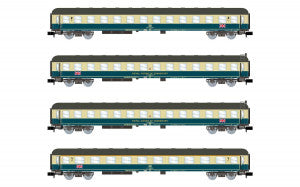 Arnold HN4297 N Gauge RCT The Berliner Coach Set (4) IV