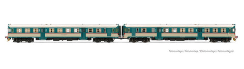 Lima HL2654 HO Gauge FS ALn668 1900 2 Car Diesel Railcar Set V