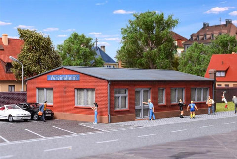 Kibri 38513 HO/OO Gauge Sports Clubhouse Kit