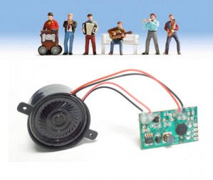 Noch 12820 HO/OO Gauge Street Musicians with Sound