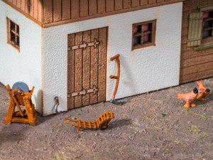 Noch 13723 HO/OO Gauge Hay Harvest Set 3D Mini