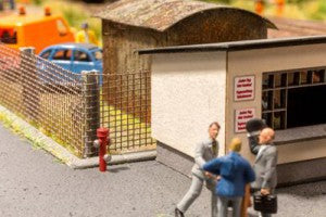 Noch 13750 HO/OO Gauge Fire Hydrants 3D Mini