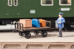 Noch 14311 HO/OO Gauge Luggage Barrow Laser Cut Minis Kit