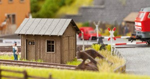 Noch 14640 N Gauge Lineside Hut Laser Cut Minis Kit