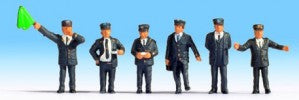 Noch 15271 HO/OO Gauge British Railway BR Staff Figures