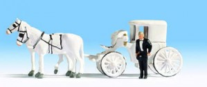 Noch 16706 HO/OO Gauge Wedding Carriage