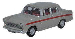 Oxford Diecast 76ACF002 OO Gauge Austin Cambridge Armadillo Beige/Red