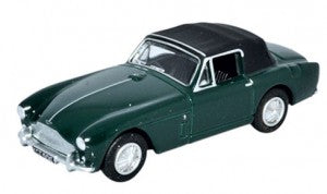 Oxford Diecast 76AMDB2002 OO Gauge Aston Martin DB2 MkIII DHC Dark British Racing Green