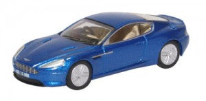 Oxford Diecast 76AMDB9003 OO Gauge Aston Martin DB9 Coupe Cobalt Blue