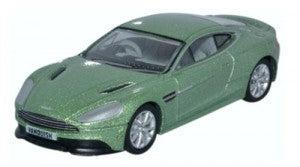 Oxford Diecast 76AMV001 OO Gauge Aston Martin Vanquish Coupe Appletree Green
