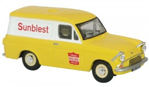 Oxford Diecast 76ANG016 OO Gauge Ford Anglia Van Sunblest