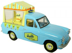 Oxford Diecast 76ANG018 OO Gauge Ford Anglia Van Walls Ice Cream