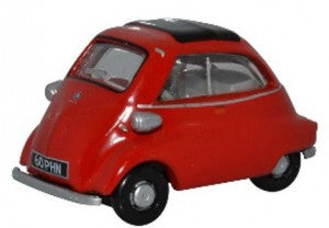 Oxford Diecast 76IS001 OO Gauge BMW Isetta Signal Red