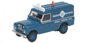 Oxford Diecast 76LAN2017 OO Gauge Land Rover Series II LWB Hard Top RAC