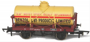 Oxford Rail 76TK2004 OO Gauge 12t Tank Wagon Benzol and By Products 1000