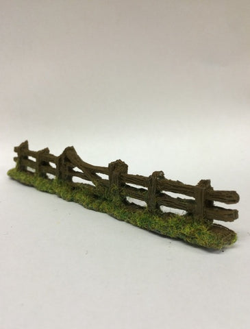 Javis PF2 OO Gauge Rough Fencing with Gate