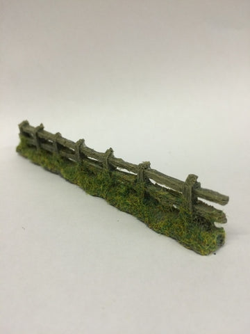 Javis PF6 OO Gauge Old Grey Weathered Fence