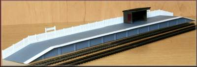 Knightwing PM114 OO Gauge Station Halt and Platform Plastic Kit