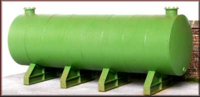 Knightwing PM117 OO Gauge Single Diesel Tank w Supports Plastic Kit