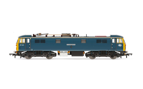 Hornby R3739 OO Gauge BR Blue Class 87 No 87001 Royal Scot/Stephenson