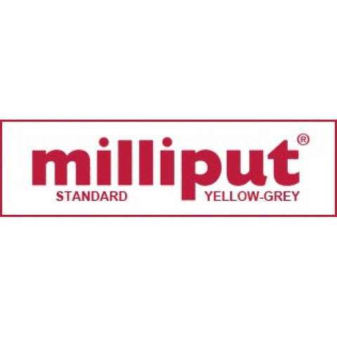 Milliput MP801 Standard Yellow/Grey Epoxy Putty (113g)
