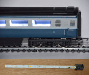 Train-Tech CL1 OO Gauge Coach Lighting Kit Cool White