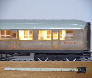 Train-Tech CL2 OO Gauge Coach Lighting Kit Warm White
