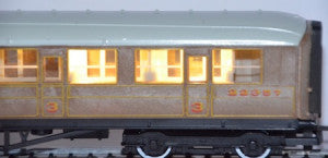 Train-Tech CN2 N Gauge Coach Lighting Kit Warm White