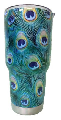 Peacock Feathers Tumbler Warehouse Tumbler