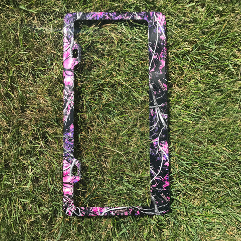 Muddy Girl License Plate Frame