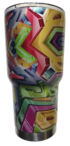 Kaleidoscope Tumbler Warehouse Tumbler
