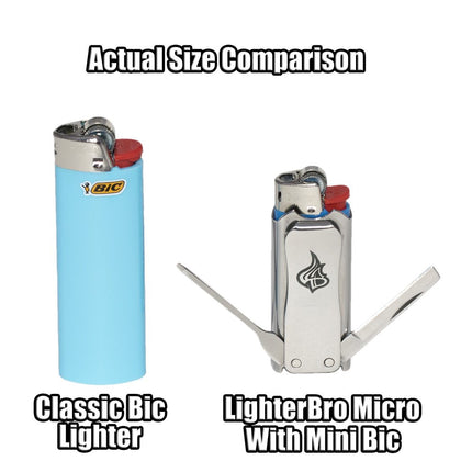 LighterBro® MICRO - (Different Colors Available)