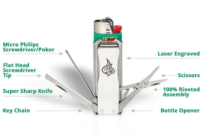 You Name the Price: $5, $10, or $100 for LighterBro Multitool