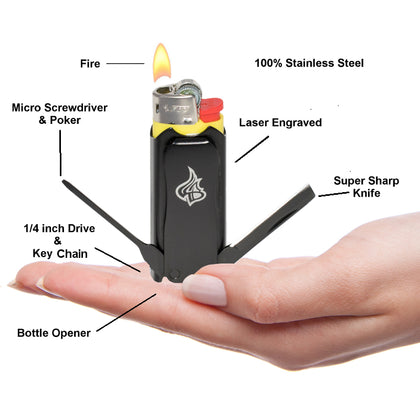 You Name the Price $1, $3, $5, $10, or $100 for LighterBro Micro Multitool