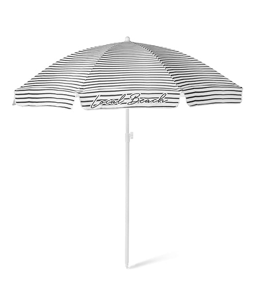 Brush Stripe Beach Umbrella