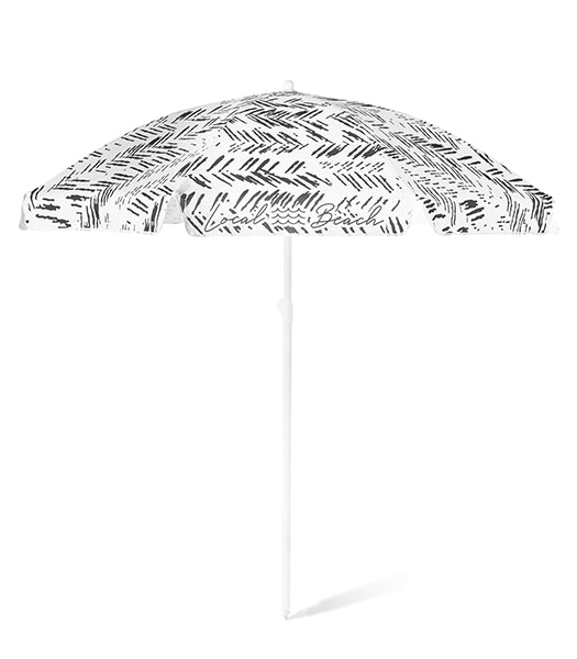Herringbone Stripe Beach Umbrella